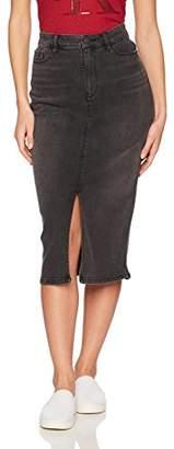 Calvin Klein Jeans Women's Women's High Rise Denim Pencil Skirt
