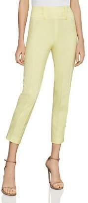 BCBGMAXAZRIA Pintuck Cropped Skinny Pants
