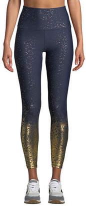 Beyond Yoga Alloy Ombre High-Waist Midi Legging