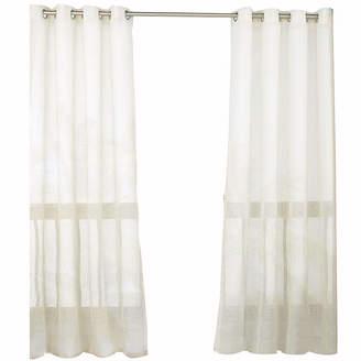 Asstd National Brand Parasol Summerland Key Indoor/Outdoor Sheer Grommet-Top Curtain Panel