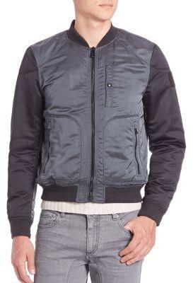 Bomber jacket stunning on the