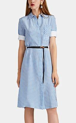 Altuzarra Women's Kieran Gingham Belted Dress - Placid