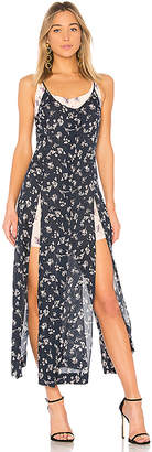 Cinq à Sept Jocelyn Floral Maxi Dress