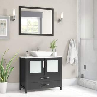 "Wade Logan Karson 36"" Single Bathroom Vanity Base"