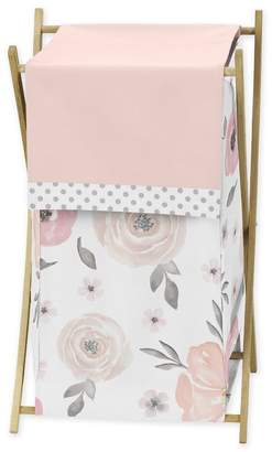 JoJo Designs Sweet Watercolor Floral Laundry Hamper