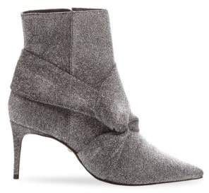 Schutz Women's Adryen Glitter Ankle Boots - Grey - Size 6