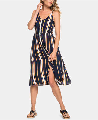 Roxy Juniors' Sunset Beauty Striped Strappy Dress