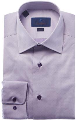 David Donahue Slim Fit Dress Shirt