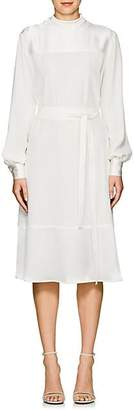 Co Women's Crepe Belted Midi-Dress - Ivorybone