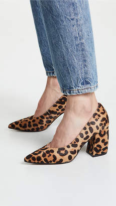 Steven Pamina Block Heel Pumps