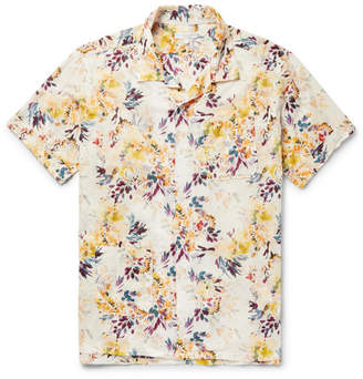 Engineered Garments Camp-Collar Printed Cotton Shirt