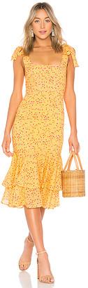 Lovers + Friends Day Keeper Midi Dress