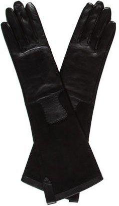 Hermes Lambskin & Suede Gloves w/ Tags