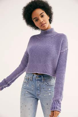 Seedling Mock Neck Sweater