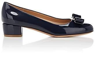 Salvatore Ferragamo Women's Vara Patent Leather Pumps - Blue
