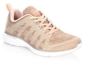 Athletic Propulsion Labs Athletic Propulsion Labs Women's TechLoom Pro Sneakers - Rose Gold - Size 5
