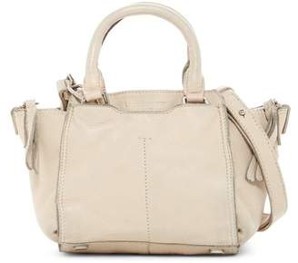 Liebeskind Berlin Mini Geometric Leather Satchel