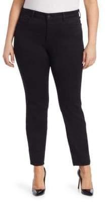 NYDJ NYDJ, Plus Size NYDJ, Plus Size Women's Alina Legging Jeans - Black - Size 22W