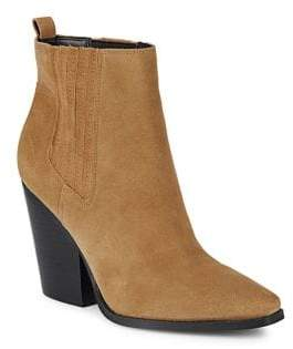 KENDALL + KYLIE Women's Colt Saddle Booties - Saddle - Size 6