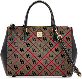 Dooney & Bourke Willa Signature Zip Satchel