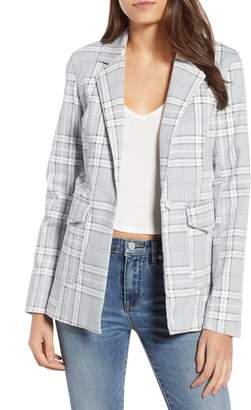AFRM Lila Plaid Blazer