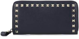 Valentino Rockstud leather wallet