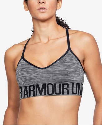 Under Armour Low-Impact Heathered Sports Bra