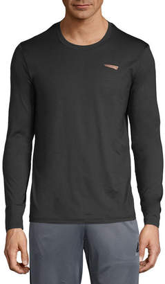COPPER FIT Copper Fit Mens Crew Neck Long Sleeve T-Shirt