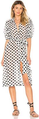 Lisa Marie Fernandez Pouf Shirt Dress