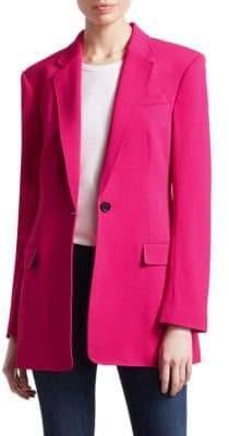 A.L.C. Women's Vernay Button-Front Jacket - Fluro Pink - Size 2