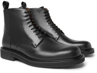 Mr P. Jacques Leather Derby Boots