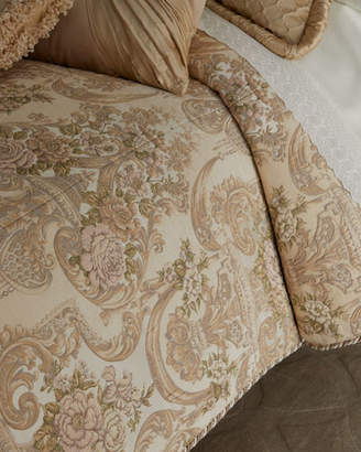 Dian Austin Couture Home Mayorka Queen Duvet Cover with Tassels