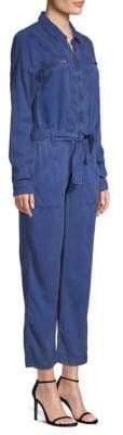 Hudson Jeans Jeans Women's Cropped Utility Jumpsuit - Albury - Size XS
