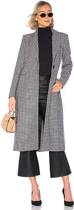 Bardot Check Coat