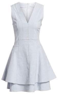 Derek Lam 10 Crosby Women's Denim Fit-&-Flare Dress - Dust Blue - Size 00
