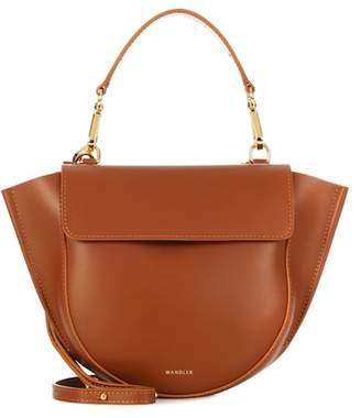 Hortensia Wandler Mini leather shoulder bag