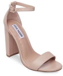 Steve Madden Carrson Leather Ankle-Strap Sandals