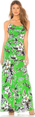 Diane von Furstenberg Cowl Neck Bias Dress