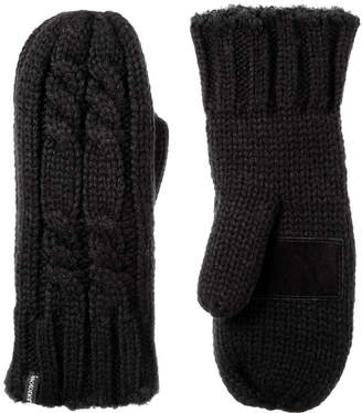 Isotoner Cold Weather Chunky Mitten