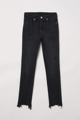 H&M Skinny High Ankle Jeans - Black