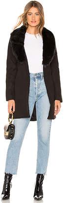 by the way. Natasha Fur Trench Coat