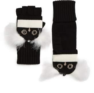 Kate Spade Penguin Convertible Mittens