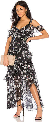 Pippa We Are Kindred Ruffle Maxi Dress