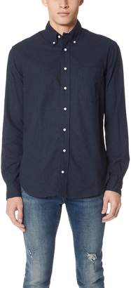 Gitman Brothers Classic Flannel Button Down Shirt