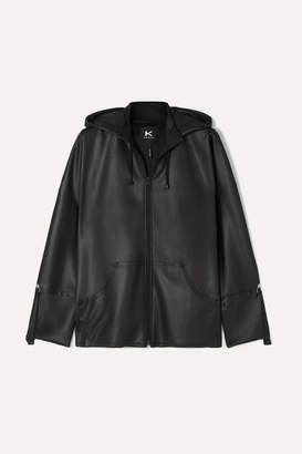 Koral Fix Hooded Stretch-scuba Jacket - Black