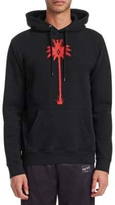 Marcelo Burlon County of Milan Palm Tree Cotton Hoodie