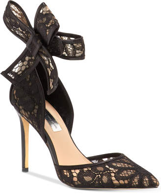 INC International Concepts I.n.c. Kaiaa Bow Evening Pumps, Women Shoes