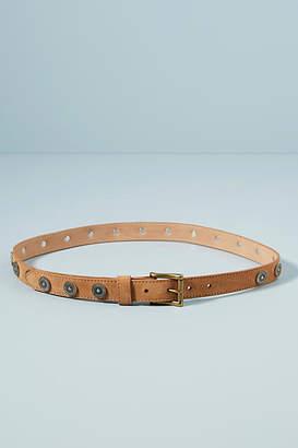 Brave Leather Bellsie Embellished Skinny Belt