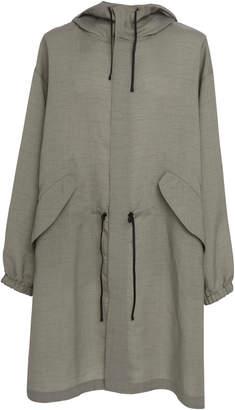 Jil Sander Hooded Drawstring Coat