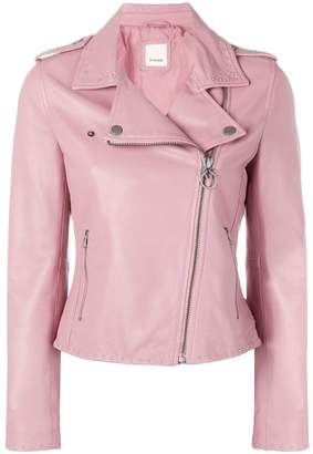 Pinko studded biker jacket